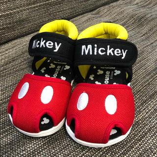 ディズニー(Disney)のしほ様専用 [新品]ミッキー サマーシューズ  サンダル 13.0センチ(サンダル)