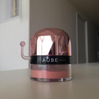 オーブクチュール(AUBE couture)のオーブ クチュール ぽんぽんチーク 435 レッド(チーク)