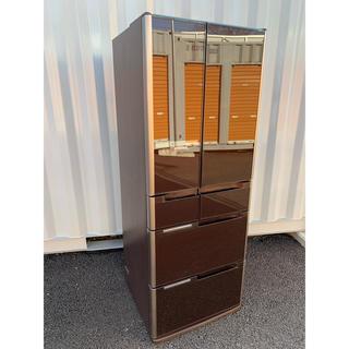 ヒタチ(日立)のHITACHI 日立 冷凍冷蔵庫 6ドア フレンチドア タッチパネル 517L(冷蔵庫)