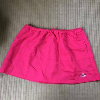 アディダス(adidas)のスカート ピンク(ミニスカート)