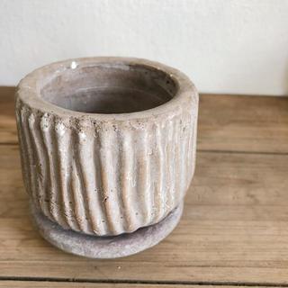 こっくり可愛い陶器鉢*ルミオラ*ベージュ*S(その他)