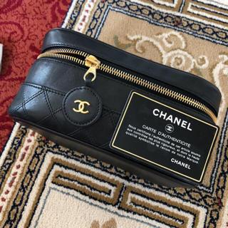 5f7716c75b33 シャネル(CHANEL)のCHANEL シャネル 正規品 バニティ バッグ ポーチ 本物 美品 bag