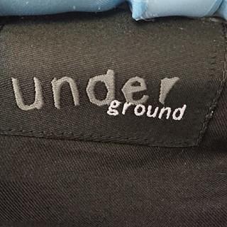 UNDERGROUND - underground 二重ジップパーカー