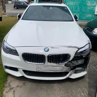 ビーエムダブリュー(BMW)のBMW 5シリーズ F10 Mスポーツパッケージ 事故車 車検有 走行可能 実働(車体)