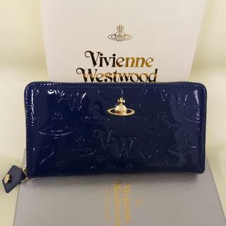 120658148e09 ヴィヴィアンウエストウッド(Vivienne Westwood)のVivienne Westwood 長財布 新品 ブルー 人気商品