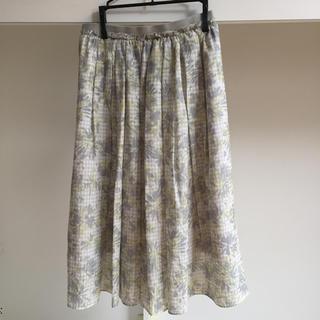 バビロン(BABYLONE)の軽やかなギャザースカート(ひざ丈スカート)