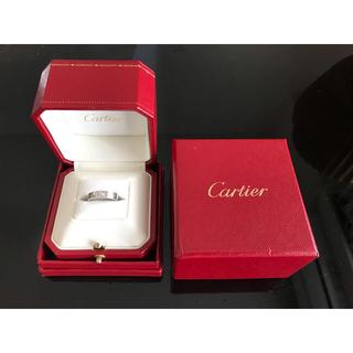 カルティエ(Cartier)の【理恵様専用】カルティエ ミニラブリング 1Pダイヤ メンテキット付(リング(指輪))