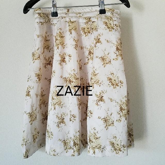 ZAZIE(ザジ)のZAZIE スカート 春夏生地 レディースのスカート(ミニスカート)の商品写真