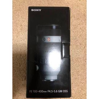 ソニー(SONY)の未開封品 SONY FE 100-400mm F4.5-5.6 GM OSS(レンズ(ズーム))