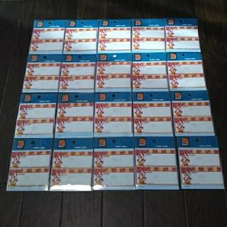 ディズニー(Disney)の定価5千円 ミッキーアイロン接着 ネームラベル 名前シール ディズニー 入学進級(ネームタグ)