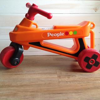 ピープルpeople公園レーサー★外遊び子供用バイクお出かけに♪(三輪車)