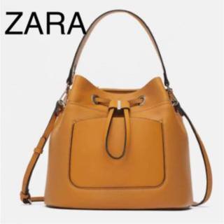 ザラ(ZARA)のzara  巾着バッグ(ハンドバッグ)