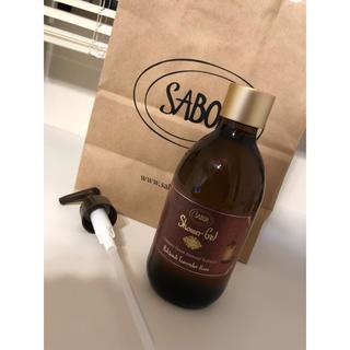 サボン(SABON)の新品 SABONザボン シャワージェル パチュリ・ラベンダーローズ(ボディソープ / 石鹸)