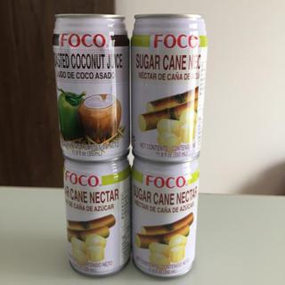 ローストココナッツジュース/サトウキビジュース(ソフトドリンク)