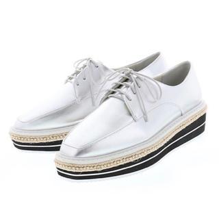 ランダ(RANDA)のRANDA ランダ スポーティレースアップ厚底シューズ(ローファー/革靴)