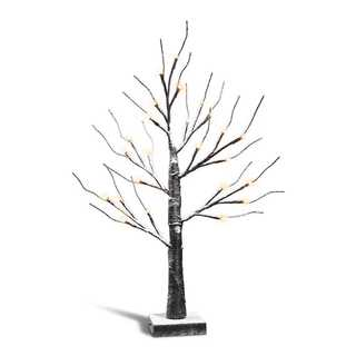 ★在庫限りクリスマスライト 雪降りツリー (テーブルスタンド)
