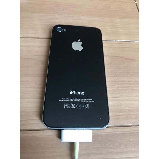 iPhone(アイフォーン)のiPhone 3 携帯電話 アップル 黒色 本体 スマホ/家電/カメラのスマートフォン/携帯電話(携帯電話本体)の商品写真