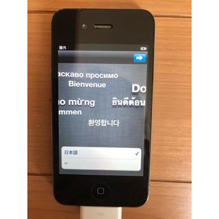 アイフォーン(iPhone)のiPhone 3 携帯電話 アップル 黒色 本体(携帯電話本体)