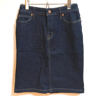 ムジルシリョウヒン(MUJI (無印良品))の無印良品 デニムタイトスカート(ひざ丈スカート)