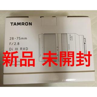 タムロン(TAMRON)の新品 タムロン 28-75mm F/2.8 Di III RXD (レンズ(ズーム))