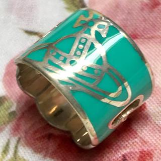 ヴィヴィアンウエストウッド(Vivienne Westwood)のヴィヴィアン エメラルド グリーン リング(リング(指輪))