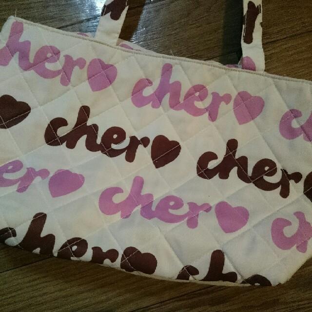 Cher(シェル)の付録 cher♡ トート レディースのバッグ(トートバッグ)の商品写真