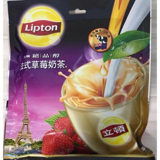 ユニリーバ(Unilever)の台湾 Lipton いちごミルクティー(茶)