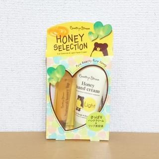新品▼春からのイメチェンに!HONEY SELECTION 蜂蜜はちみつ リップ