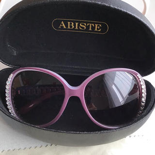 アビステ(ABISTE)のABISTE  サングラス  ビジュー付き 美品  レア物(サングラス/メガネ)