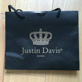 ジャスティンデイビス(Justin Davis)のショッパー(ショップ袋)