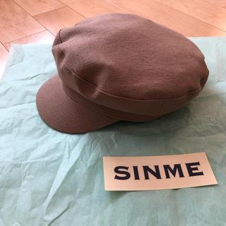 SINME マリンキャップ  ベージュ(キャスケット)