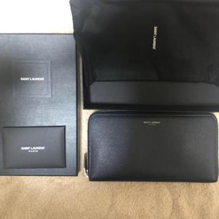 サンローラン(Saint Laurent)の美品 サンローラン 財布 ロングジッパーウォレット  ゴールデンウィーク特別価格(長財布)