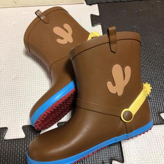 ダイアナ(DIANA)のDIANA ダイアナ ディズニー トイストーリー ウッディー レインブーツ 19(長靴/レインシューズ)