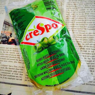 タルタルソースやサラダに☆ 種ぬき グリーンオリーブの実 1パック(野菜)