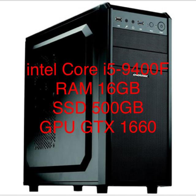 組立済みPC スマホ/家電/カメラのPC/タブレット(デスクトップ型PC)の商品写真