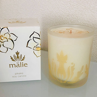 マリエオーガニクス(Malie Organics)のMALIE Organics マリエオーガニクス ソイアロマキャンドル ピカケ(アロマ/キャンドル)