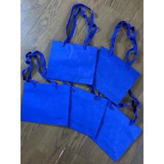 ヨウジヤマモト(Yohji Yamamoto)の送料込ヨージヤマモトYohjiYamamotoショッパー5枚セットショップバッグ(ショップ袋)