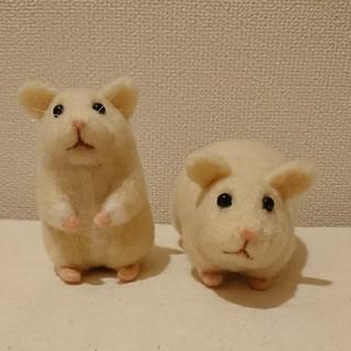 羊毛フェルト☆キンクマちゃん お人形(ぬいぐるみ)