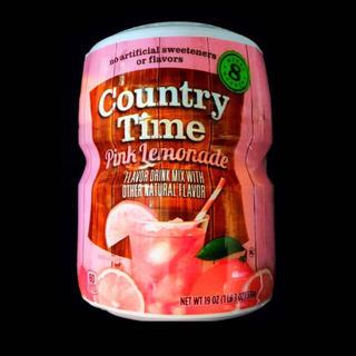Country Time Pink Lemonade カントリータイム(ソフトドリンク)
