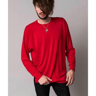 ノーアイディー(NO ID.)のニットBIGプールオーバー(Tシャツ/カットソー(七分/長袖))