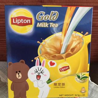 リプトン gold milk tea ゴールドミルクティー 20本(茶)