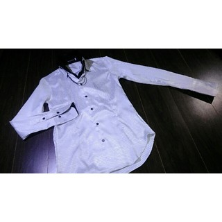 バッファローボブス(BUFFALO BOBS)の美品/BUFFALO BOBS/バッファローボブス/二重襟/ドレスシャツ(シャツ)