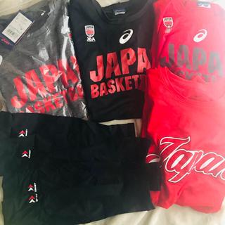 アシックス(asics)のバスケtシャツロングtシャツ、靴下インナー等(バスケットボール)