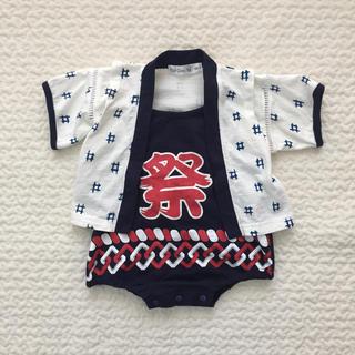 祭ロンパース 80(甚平/浴衣)