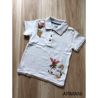 アルマーニ ジュニア(ARMANI JUNIOR)のARMANI JUNIOR☆ポロシャツ(Tシャツ/カットソー)