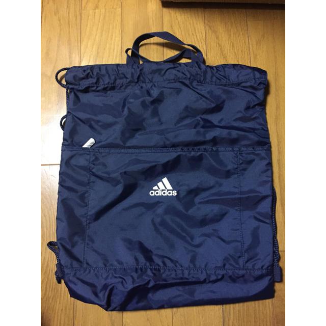 adidas(アディダス)のadidas アディダス ナップサック メンズのバッグ(バッグパック/リュック)の商品写真