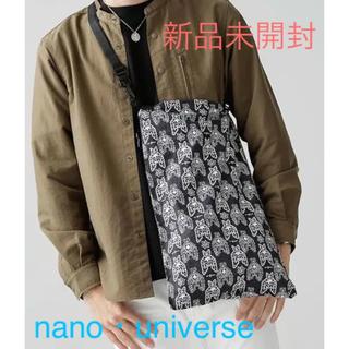 ナノユニバース(nano・universe)の値下げ!ナノユニバース【新品】3WAYタイベックトラベルバッグ(トートバッグ)