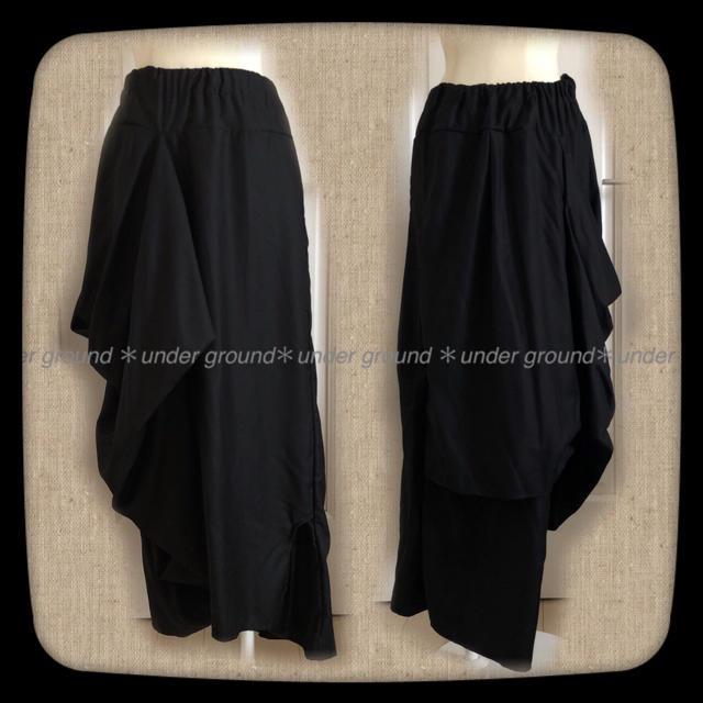 UNDERGROUND(アンダーグラウンド)の新品*アンダーグラウンド*2way*サルエル*スカート*変形 レディースのスカート(ロングスカート)の商品写真