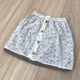 ビケット(Biquette)のビケット  スカート     小花柄  100センチ(スカート)