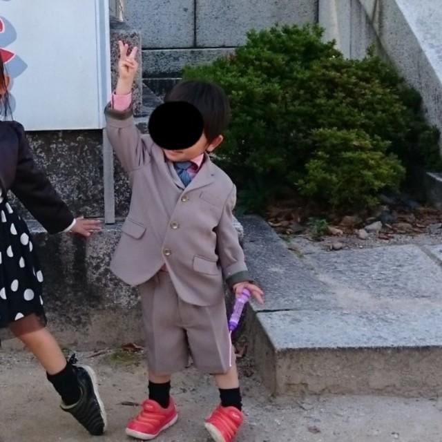 POLO RALPH LAUREN(ポロラルフローレン)の男の子 スーツ フォーマル 入園式 卒園式 入学式 七五三 100 キッズ/ベビー/マタニティのキッズ服 男の子用(90cm~)(ドレス/フォーマル)の商品写真